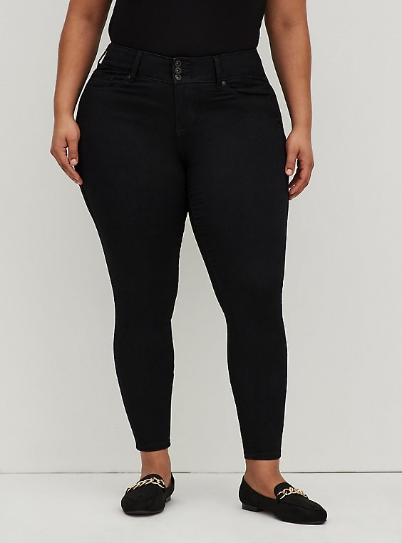 Plus Size Jegging- Super Soft Stretch Black, , hi-res