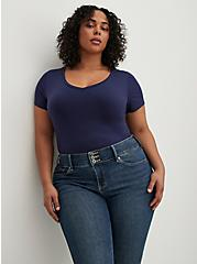 Jegging- Super Soft Medium Wash, BLUE GROTTO, alternate