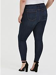 Mid Rise Skinny Jean - Super Soft Stretch Dark Wash, TWILIGHT, alternate