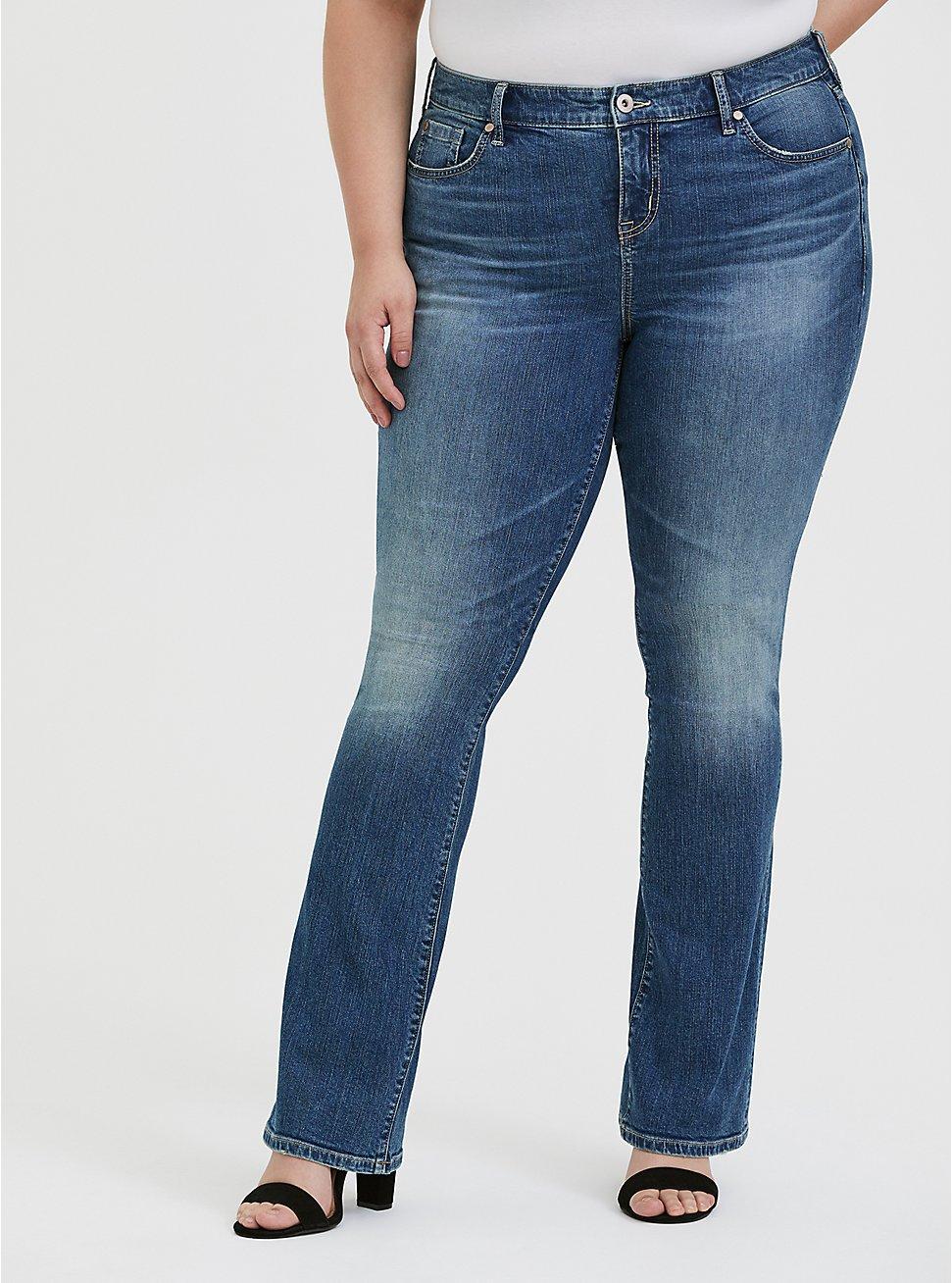 Slim Boot Jean- Vintage Wash Medium Stretch, SHELBY 68, hi-res
