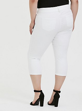 Crop Jegging - Vintage Stretch White, OPTIC WHITE, alternate