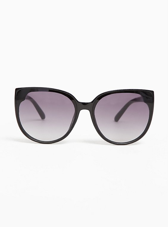 Black & Ombre Cat Eye Sunglasses, , hi-res