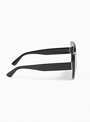 Black Cat Eye Sunglasses, , alternate