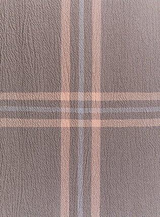 Harper - Grey Plaid Textured Pullover Blouse, PLAID - GREY, alternate