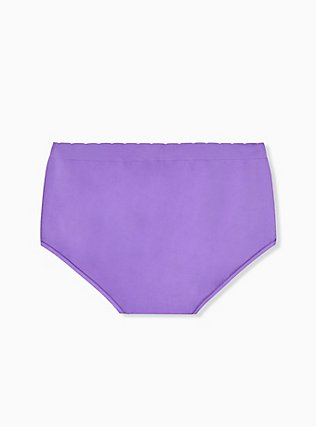 Purple Dinosaur Seamless Brief Panty, DINO PARTY, alternate