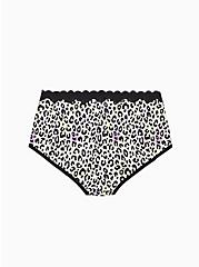 Multi Leopard Cotton Brief Panty, AIRBRUSH LEOPARD, alternate