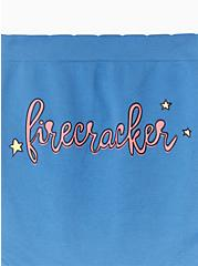 Firecracker Blue Seamless Brief Panty , FIRECRACKER, alternate