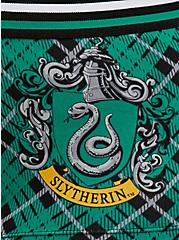 Harry Potter Slytherin Green Plaid & Black Cotton Boyshort Panty, MULTI, alternate