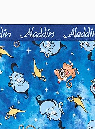 Disney Aladdin Genie Blue Cotton Hipster Panty , MULTI, alternate