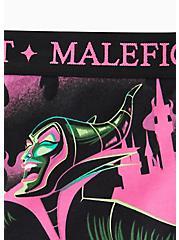Disney Villains Maleficent Black Cotton Boyshort Panty, MULTI, alternate