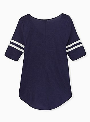 Football Favorite Tunic Tee - Heritage Slub Navy, PEACOAT, alternate