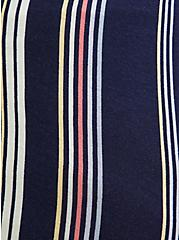 Navy & Multi Stripe Jersey V-Neck Sleep Cami, MULTI, alternate