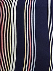 Navy & Multi Stripe Jersey Sleep Short, MULTI, alternate