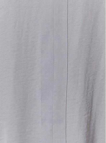 Plus Size Grey Textured Satin Pullover Tank , FROST GRAY, alternate