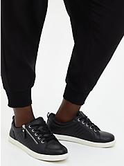 Relaxed Fit Crop Jogger - Dressy Twill Black, DEEP BLACK, alternate