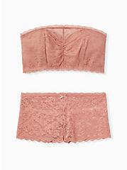 Dusty Pink Lace Cheeky Panty, ASH ROSE, alternate