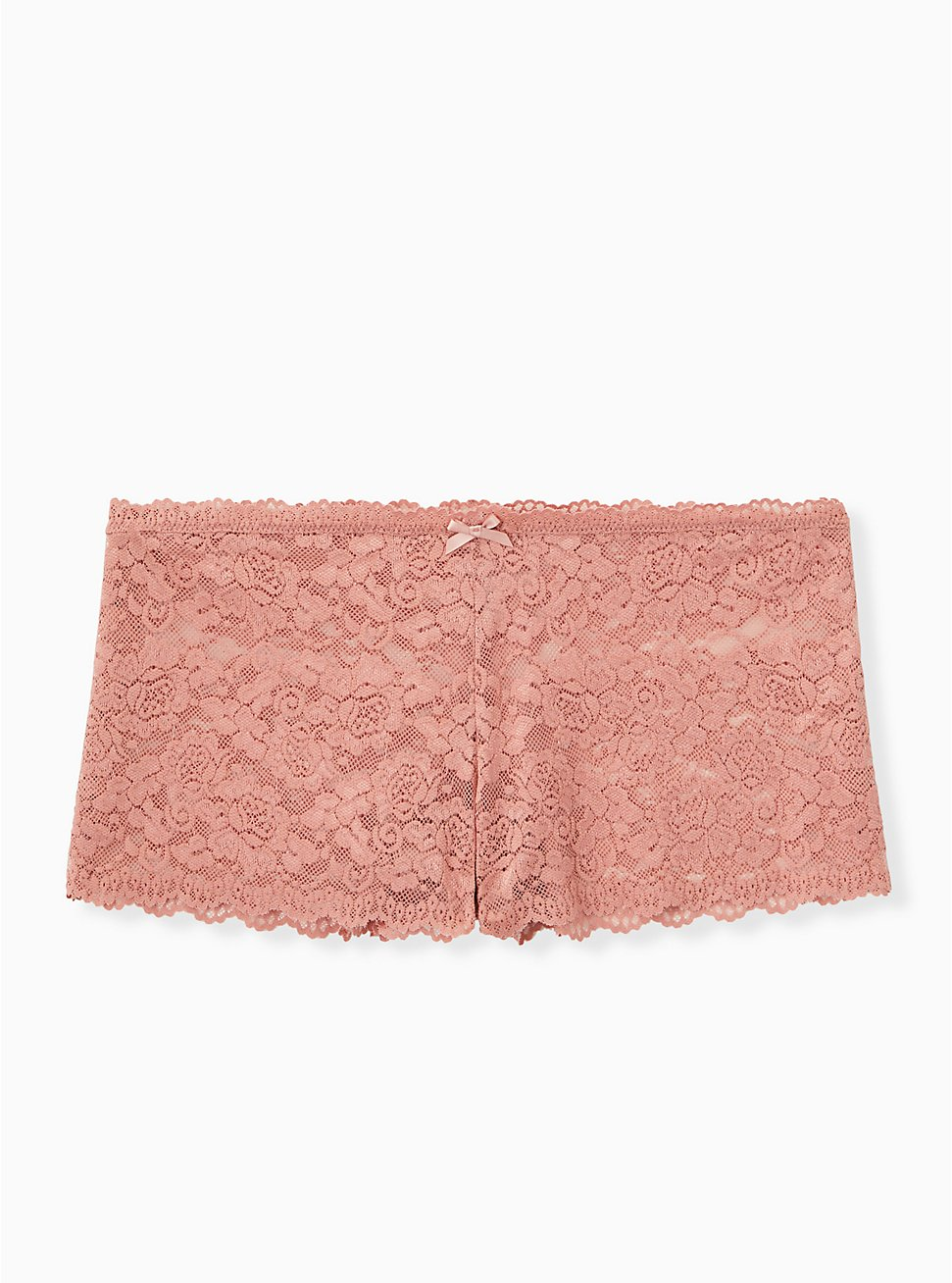Dusty Pink Lace Cheeky Panty, ASH ROSE, hi-res