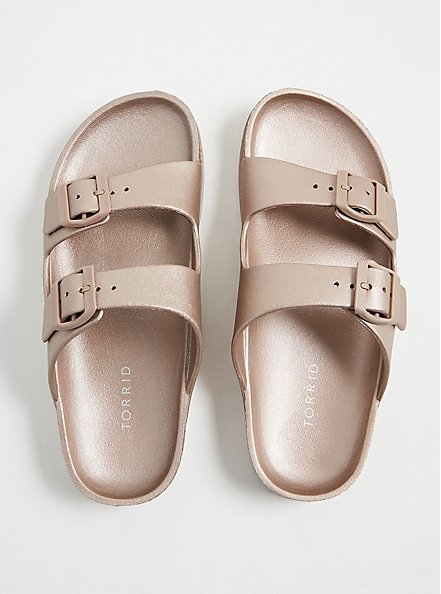 Rose Gold Rubber Dual Strap Slide (WW), ROSE GOLD, alternate