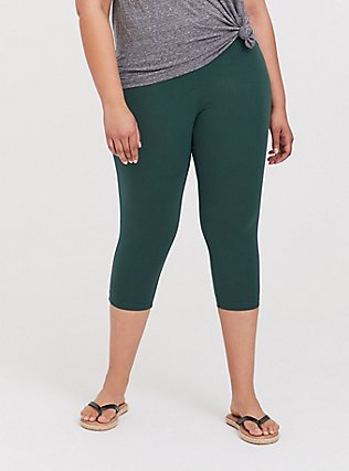 Capri Premium Legging - Green, GARDEN TOPIARY, alternate