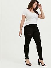 Jegging - Premium Stretch Black, BLACK, alternate