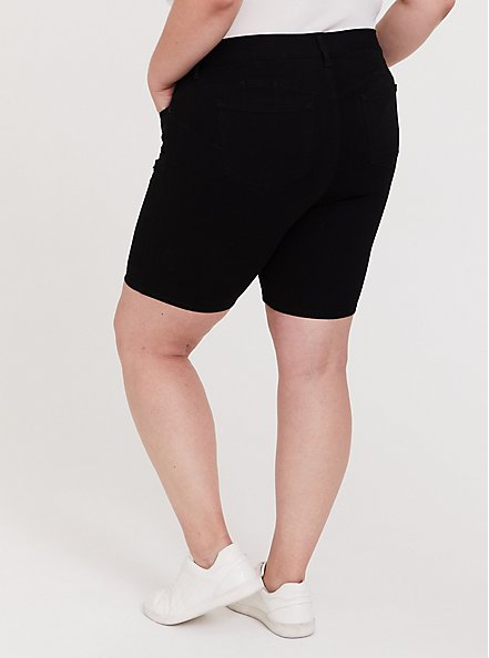 Bombshell Bermuda Short - Premium Stretch Black, BLACK, alternate