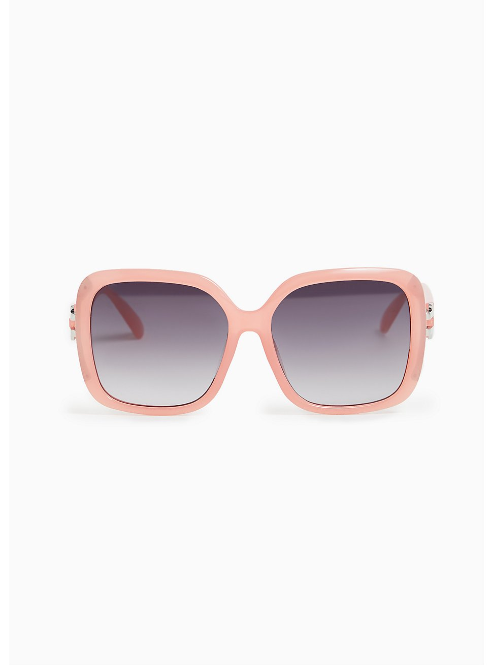 Pink Oversize Square Sunglasses, , hi-res