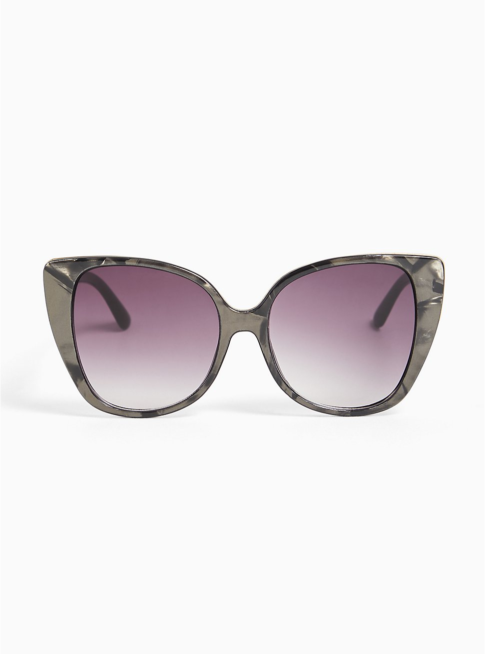 Grey Marble Cat Eye Sunglasses, , hi-res