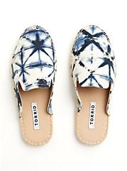 Navy Tie-Dye Espadrille Mule (WW), BLUE, alternate