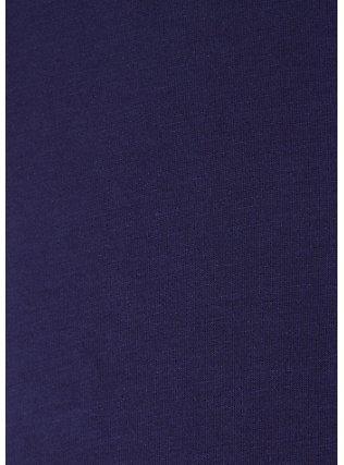 Super Soft Navy Trapeze Maxi Dress, PEACOAT, alternate