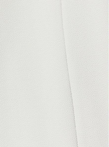 Light Stone Grey Crepe Drape Front Blazer, OYSTER MUSHROOM, alternate