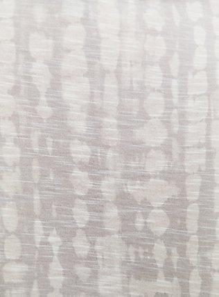 Plus Size Ivory Tie-Dye Slub Jersey Tie Front Midi Dolman Blouse, TIE DYE, alternate
