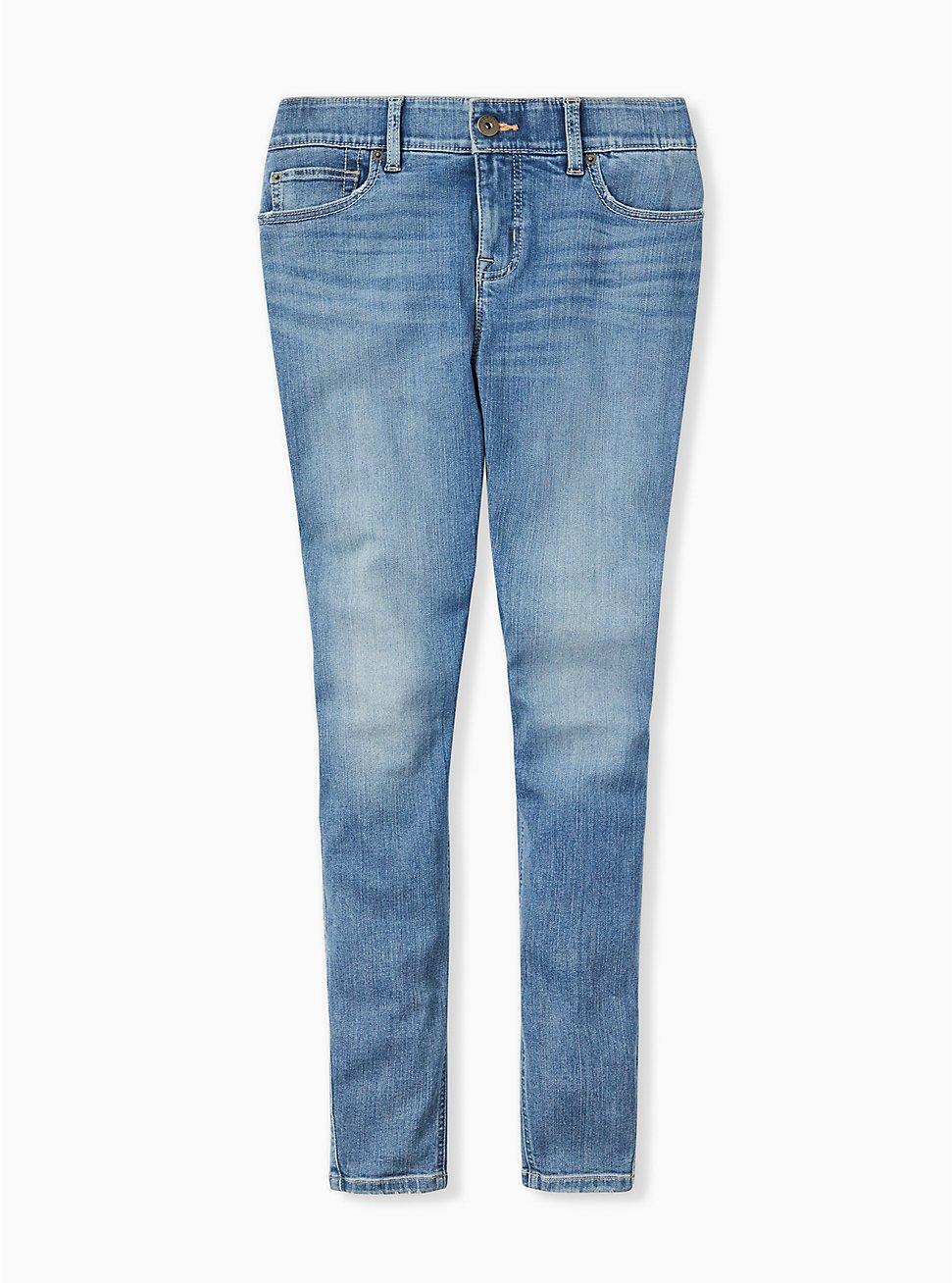 Plus Size Bombshell Skinny Jean - Premium Stretch Medium Wash, GREENWICH, hi-res