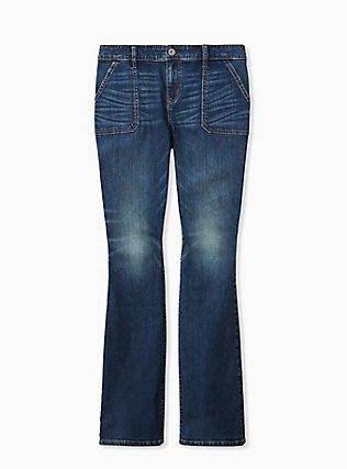Slim Boot Jean - Vintage Stretch Dark Wash, EQUINOX, hi-res
