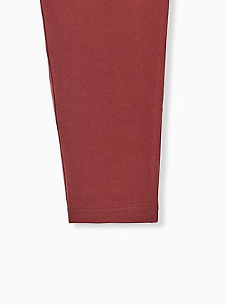 Premium Legging - Brick Red, BROWN, alternate