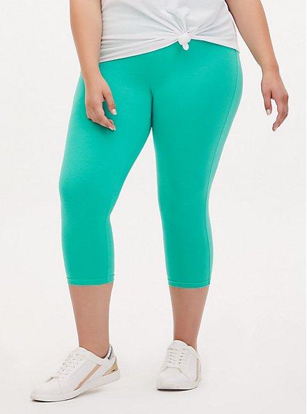 Capri Premium Legging - Turquoise, GREEN, alternate