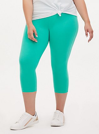 Capri Premium Legging - Turquoise, GREEN, alternate