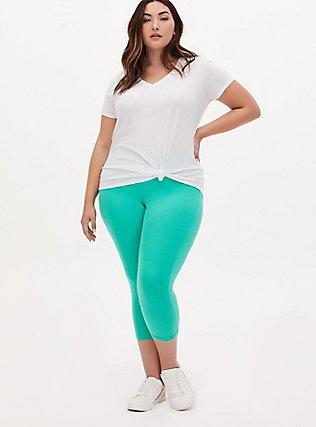 Capri Premium Legging - Turquoise, GREEN, hi-res