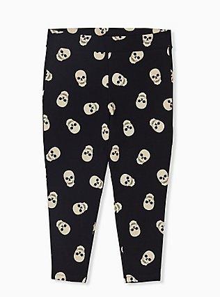Crop Premium Legging - Skull Black, MULTI, alternate