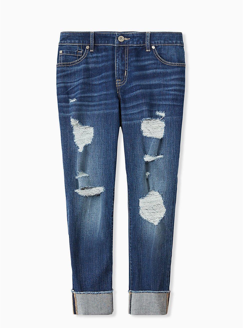 Crop Boyfriend Jean - Vintage Stretch Medium Wash, BACK COUNTRY, hi-res