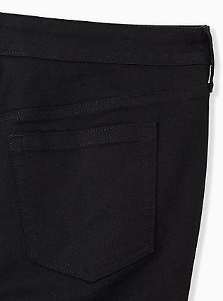 High Rise Short Short - Vintage Stretch Black, BLACK, alternate