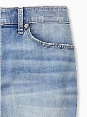 High Rise Mid Short - Vintage Stretch Medium Wash , APHRODITE, alternate