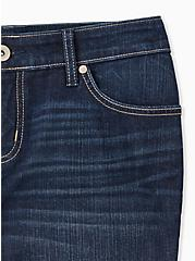 Low Rise Bermuda Short - Vintage Stretch Dark Wash, TROUBADOUR, alternate