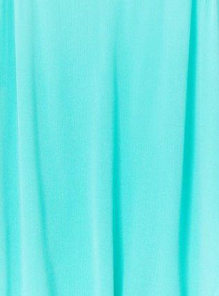 Sophie - Turquoise Gauze Swing Cami, AQUA GREEN, alternate