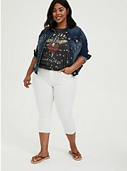 Crop Sky High Skinny Jean - Super Soft White, OPTIC WHITE, alternate