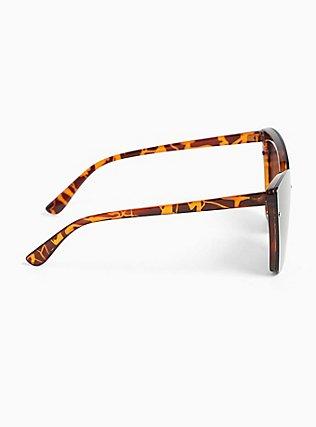 Tortoiseshell Cat Eye Sunglasses, , alternate