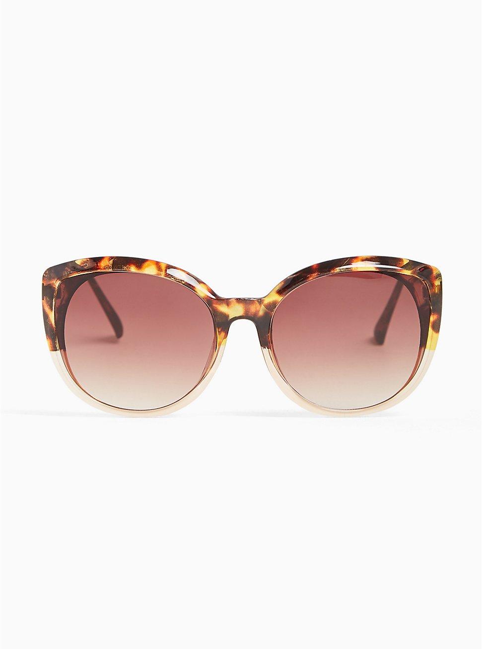 Tortoiseshell Cat Eye Sunglasses, , hi-res