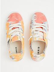 Riley - Multi Tie-Dye Ruched Sneaker (WW), MULTI, alternate