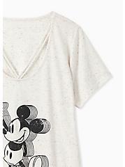 Disney Mickey Mouse Ivory Confetti Lattice Top, NATURAL IVORY, alternate