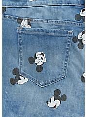 Disney Mickey Mouse Shortall - Medium Wash, CITY GAMES, alternate