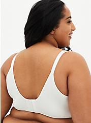 White 360° Back Smoothing ™ Lightly Lined Everyday Wire-Free Bra, , fitModel1-alternate